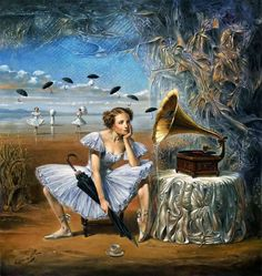 Michael Cheval.  Illusions of Absurdity. Melody of Rain