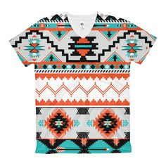 Just in at ShopFlexy Women's V-Neck T-... different color variations http://shopflexy.myshopify.com/products/womens-v-neck-t-shirt-aztec-front-print?utm_campaign=social_autopilot&utm_source=pin&utm_medium=pin