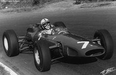 #7 John Surtees (GB) - Ferrari 158 (Ferrari V8) 1 (1) Scuderia Ferrari SpA Sefac