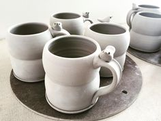 Mugs by Tasha McKelvey