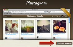 How To Browse Instagram Like Pinterest [Quicktip]