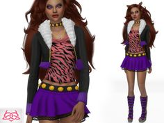 Sims 4 Controls, High Hair, Wolf, Sims Community, Sims Resource, Sims Mods, Character Costumes, Sims 4 Custom Content, Sims Cc