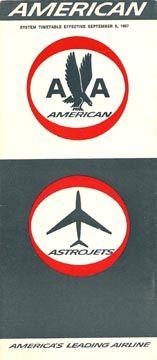 American Airlines - American Airways - 1967