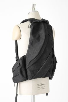 viridi-anne paper backpack