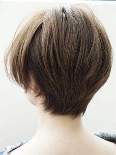 Pin on ショートヘア Cut My Hair, Love Hair, Short Bob Hairstyles, Pretty Hairstyles, Haircuts, Shot Hair Styles, Hair Reference, Hair Today, Hair Designs