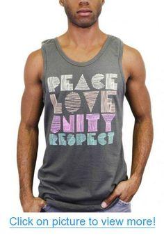 iHeartRaves Peace Love Unity Respect (PLUR) Men's Tank