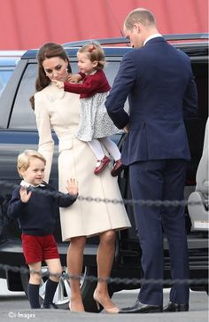 Prince George does not want to leave!