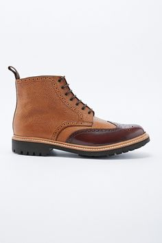 "Grenson – Two-Tone-Boot ""Sharp"""