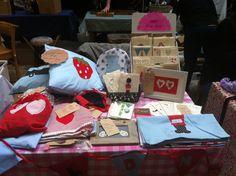 Craft fair set up