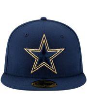 Gorra New Era 5950 NFL Dallas Cowboys Gold Team Sb VI 74b5d93c16e