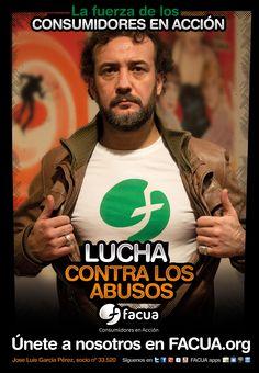 José Luis García-Pérez, socio de FACUA nº 33.520, llama a los consumidores a la lucha contra los abusos