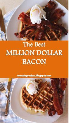 #Best #Dish and #Recipe >> MILLION DOLLAR #BACON - ~08~ #Amazing #recipes Bacon Recipes, Vegan Recipes, Cooking Recipes, Thick Cut Bacon, Good Food, Yummy Food, My Best Recipe, Best Dishes, Amazing Recipes