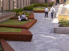 The Holyrood North by HarrisonStevens « Landscape Architecture Works Landscape And Urbanism, Landscape Architecture Design, Architecture Details, Landscape Bricks, Architecture Diagrams, Architecture Portfolio, Classical Architecture, Ancient Architecture, Sustainable Architecture