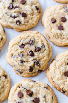The Best Soft Chocolate Chip Cookies - big, loaded with melty morsels of chocolate and soft for days! An easy, excellent chocolate chip cookie recipe. The Best Soft Chocolate Chip Cookies - big, loaded with melty morsels of chocola Make Chocolate Chip Cookies, Chocolate Chip Banana Bread, Chocolate Chip Recipes, Chocolate Biscuits, Paula Deen Chocolate Chip Cookies Recipe, Brownie Cookies, Best Chocolate Chip Recipe Ever, Cake Cookies, Chocochip Cookies Recipe