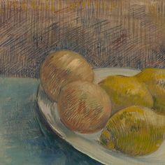 Dish with Citrus Fruit Vincent van Gogh, 1887
