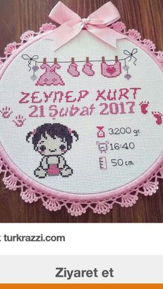 Hand Embroidery Art, Ribbon Embroidery, Cross Stitch Embroidery, Embroidery Patterns, Baby Cross Stitch Patterns, Cross Stitch Baby, Cross Stitch Alphabet, Brazilian Embroidery, Plastic Canvas Patterns