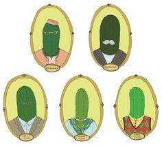 Packaging by illustrator Anna Rodighiero. We're big fans of pickles at Busy Beaver.