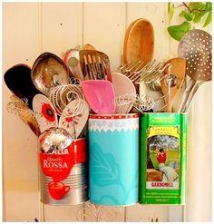 El Minihogar: decoración ltas para cocina