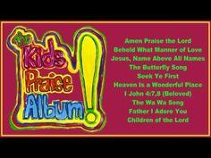 (2) The Kids Praise Album! ( Full Album) - YouTube Butterfly Songs, Sunday School Songs, All Names, I Adore You, Praise The Lords, Neon Signs, Album, Youtube, Kids
