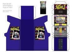 papercraft | Papercraft Arcade : SF by ~NelsonRobles on deviantART