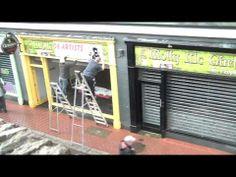 We, The Bogside Artists, open our new studio in Derry, N. Status Quo, News Studio, The Province, Northern Ireland, Murals, Irish, Politics, Artists, Youtube