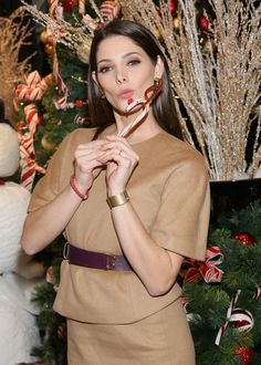 Actress Ashley Greene attends Brooks Brothers' holiday celebration with St. Jude Children's Research Hospital.