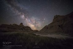 Between Badlands National Park South Dakota Camera: Canon EOS 6D Image credit: http://ift.tt/2bNrnZV Visit http://ift.tt/1qPHad3 and read how to see the #MilkyWay #Galaxy #Stars #Nightscape #Astrophotography