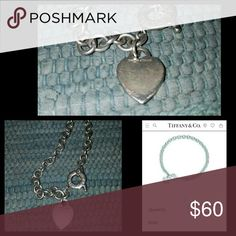Tiffany heart toggle necklace About 13 years old, sterling silver, worn slightly Tiffany & Co. Jewelry Necklaces