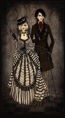 cute Goth/Vic couple