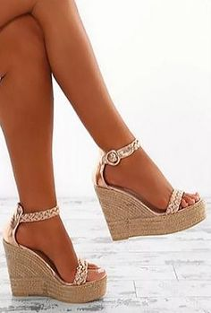 Super High Fashion Wedges Rome Gladiator Women Sandals Ankle Strap Co – chicshoeswear comfortable wedge sandals casual wedge sandals platform wedge sandals summer sandals wedge sandals wedding… Wedge Sandals Outfit, Sexy Sandals, Fashion Sandals, Wedge Shoes, Women Sandals, Summer Sandals, Sandal Wedges, Mule Sandals, Rose Gold Wedges