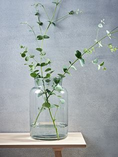Carefully hand blown from 100% recycled glass, our larger than life vase has individual imperfections that makes each vase unique. This cylindrical vase has a weighty base and a wide tapered top, making it perfect for displaying a whole bouquet of your favourite flowers.