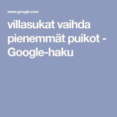 villasukat vaihda pienemmät puikot - Google-haku Google