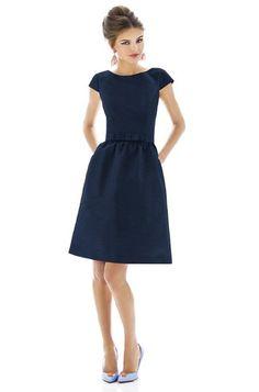 Alfred Sung D568 Bridesmaid Dress   Weddington Way $167