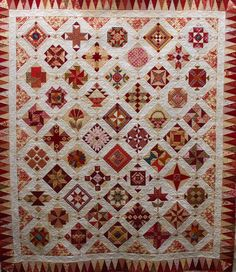 I have recently quilted a beautiful sampler quilt for my customer Jenny. Jennys quilt is named...