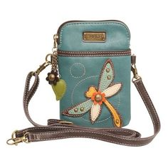Our compact crossbody bag is adorned with a cheerful appliquéd critter. Adjustable strap that lets you wear it as a simple purse, a cross-body hands-free tote, or a waist pouch. 5 x ¾ x strap adj Crossbody Phone Purse, Cell Phone Purse, Crossbody Bags, Ysl Tote, Leather Purses, Leather Handbags, Leather Wallet, Pu Leather, Leather Fashion