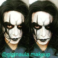 """::The Crow:: Maquillaje y Personificación de Halloween 🎃 para la fiesta temática """"I Love 80's & 90's @kryolanecuador @kryolanofficial #giginaulamakeup #kryolan #Aquacolor #thecraw #elcuervo #maquillajeecuador #maquillajeprofesional #makeup  #makeupecuador #makeupartistsworldwide #makeupandmakeup #backstage #maquillaje #personificacion #backtothefuture #80s #90s #ilove80s"""