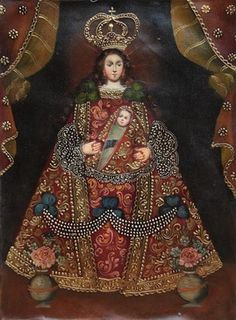 """Andean Lady Cuzco Original Oil Painting On Canvas 16""""H x 12""""W"""