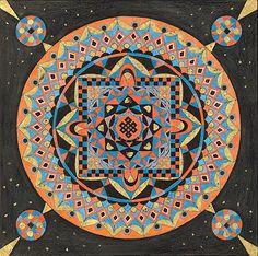 Mandala ist ein Wort aus dem Sanskrit und bedeutet Kreis bzw. Kreis, um dessen Zentrum sich alles dreht.   Bei Mandalas handelt es sich also um Kreisbilder, die in vielen Kulturen, insbesondere im Buddhismus und Hinduismus, ein religiöses Symbol darstellen und als Mittel zur Meditation dienen.