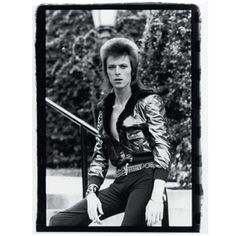 #davidbowie #october #1972 #ziggystardust #beverly #hills #hotel #los #angeles #mick #rock #french #blue #lurex #jacket #black #trousers #belt #james #dean #look