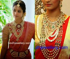 Bridal Jewellery latest jewelry designs - Page 5 of 30 - Indian Jewellery Designs South Indian Jewellery, Indian Jewellery Design, Indian Wedding Jewelry, Indian Jewelry, Bridal Jewelry, Jewelry Design, Indian Costumes, Pearl Necklace Designs, Mens Gold Jewelry
