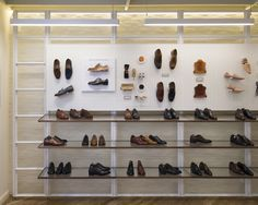 Joseph Cheaney flagship store by Checkland Kindleysides, London   UK shoes
