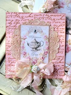 Tea Themed Gifts....afternoon tea topper