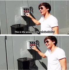 Hahaha Louis!