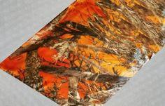 Orange Camouflage Table Runner  Orange Camo Table by IDoDoodads, $12.99