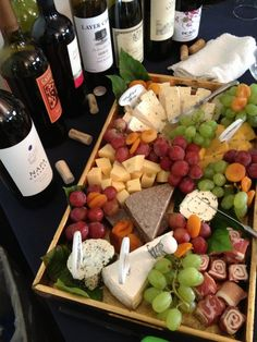 Did you know that the grapes on a typical cheese tray are actually an example of a bad food pairing? Just one of the things that you will learn at a Traveling Vineyard Wine Tasting! Wine And Cheese Party, Wine Tasting Party, Wine Parties, Wine Cheese, Party Platters, Cheese Platters, Appetizers For Party, Appetizer Recipes, Wine Recipes