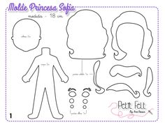 I could use the body and head pattern for the DIY Elf on the shelf~dwa princess sofia