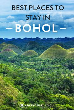 Wondering where to stay in Bohol, Philippines? Here are our top picks for the best places to stay in Bohol, from budget to luxury! Voyage Philippines, Philippines Vacation, Bohol Philippines, Phillipines Travel, Philippine Holidays, Cities, Top Hotels, Asia Travel, Philippines