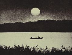 story of two men...old man river & the man in the moon