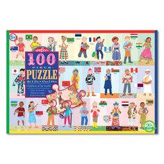 Children of the World 100 Piece Puzzle picture