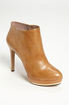 Just got these- so comfortable and cute with boot cut (long) jeans and skinny jeans.  PLUS- my cream sweater dress with cream tights! Vince Camuto 'Dira' Bootie (Online Exclusive) | Nordstrom